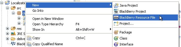 Adding new resource header file