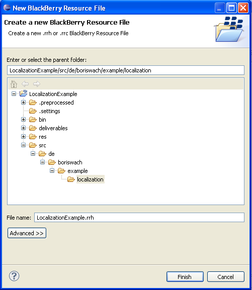 Chosing the file name