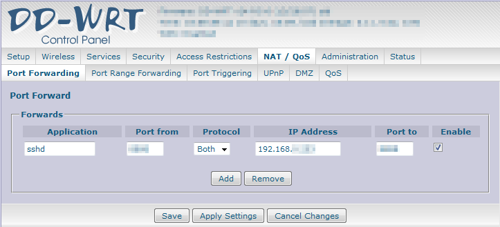 Secure connections via Android and DD-WRT from everywhere in the